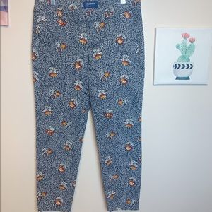 Old Navy Beautiful Floral Trousers - 8